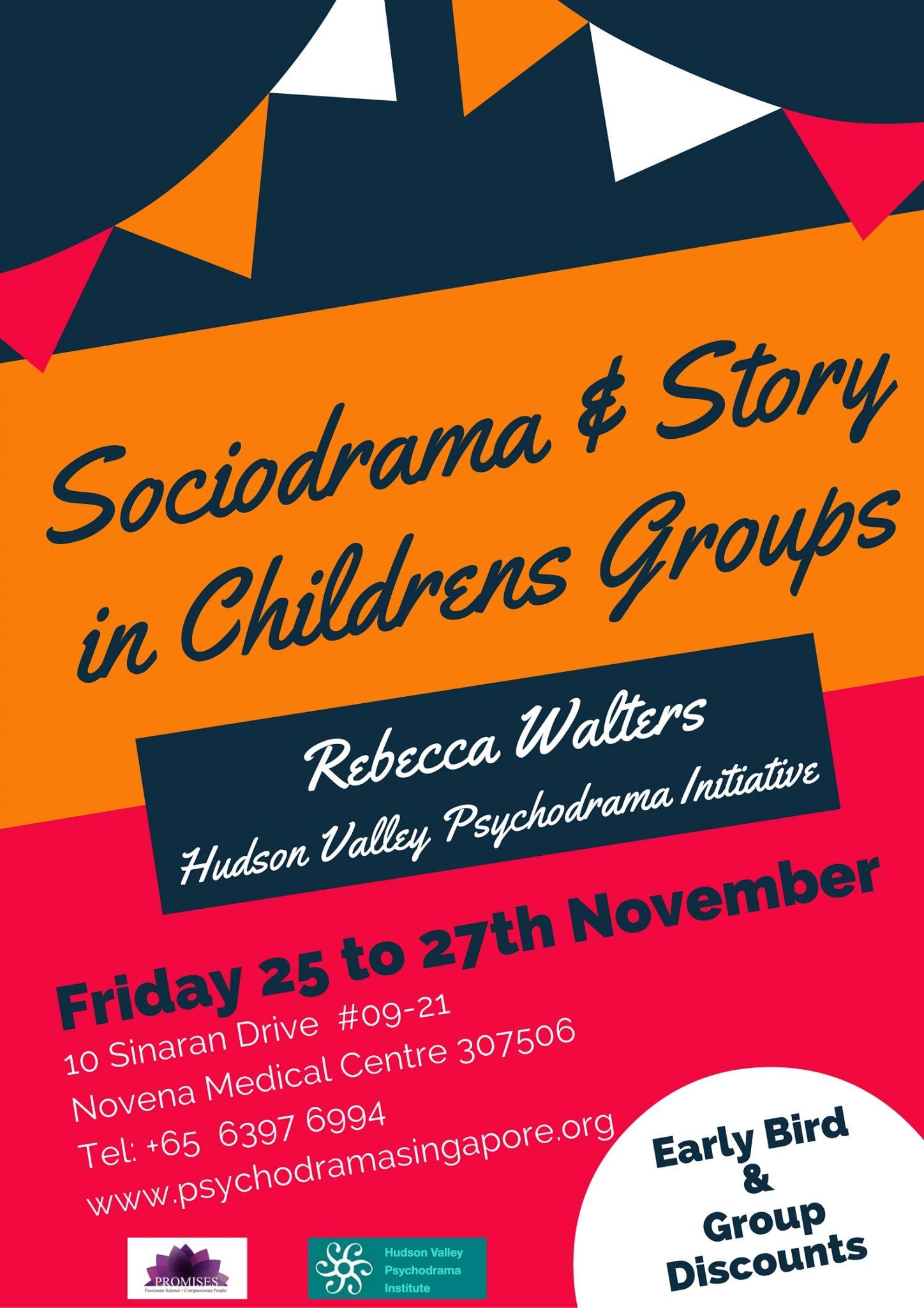 Sociodrama Psychodrama Children Rebecca Walters Promises Healthcare