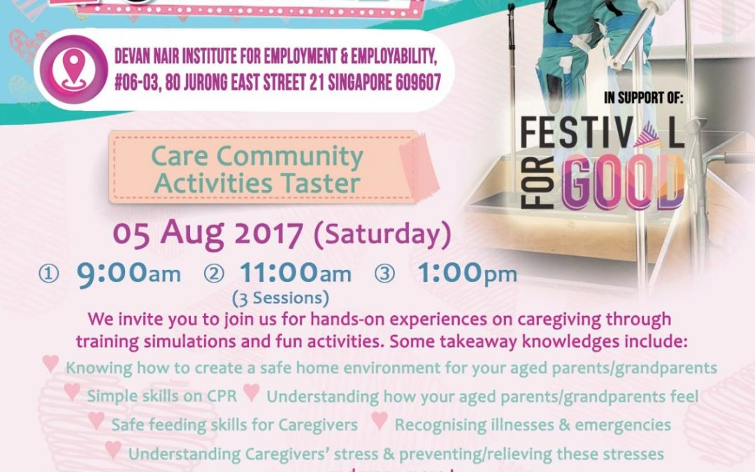 Care Community Fun Fair : 5 August 2017