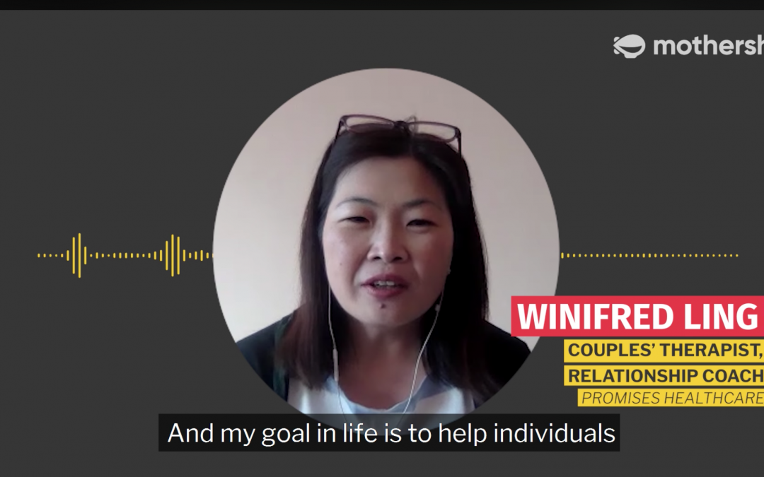 Winifred Ling, Couples Therapist, Mothership interview
